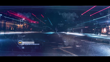 Hexagons Sci-Fi Opener After Effects Template