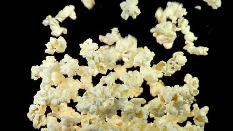 Popcorn Explosion Slow Motion Archivo