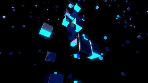 Space Glow 4K 04 Vj Loop Animation