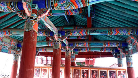 Korean Temple 영상물