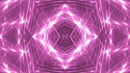 VJ Fractal Pink Kaleidoscopic Background stock footage