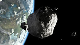 Asteroid in Earth orbit Image