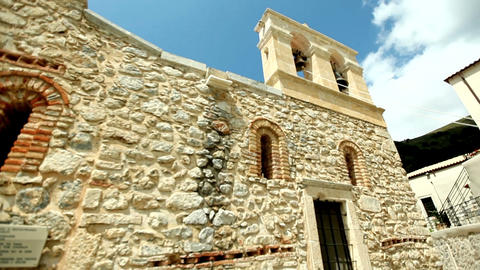 monasteries and churches of Greece Footage