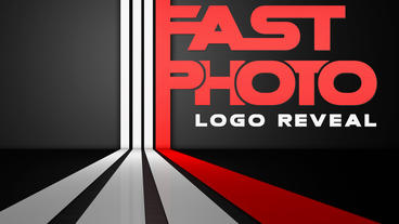 Fast Photo Logo Reveal Apple Motion Template
