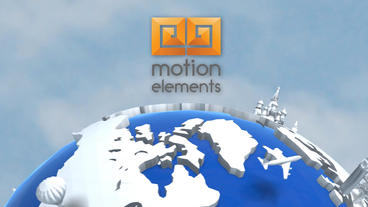 Travel Corporate Logo Opener After Effects Template