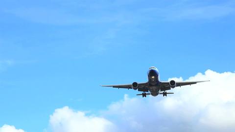 Aircraft Landing Footage
