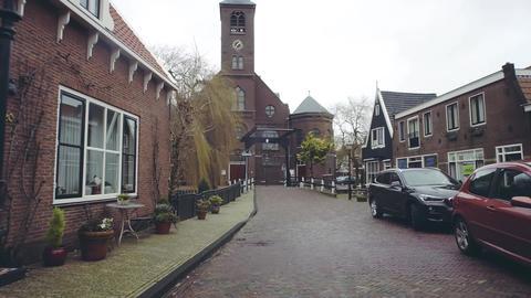 VOLENDAM, NETHERLANDS - DECEMBER 30, 2017. Saint Vincentius catholic church Photo
