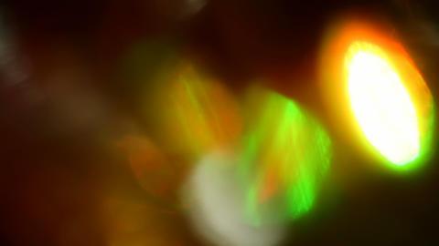 Seamless loop of soft focused LED lights blinking 실사 촬영