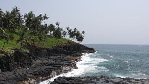 Sao Tome and Principe, Africa Footage