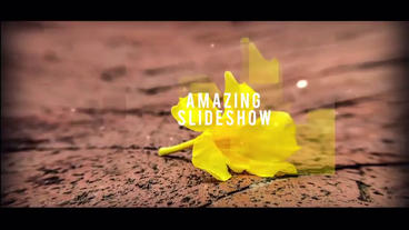 Amazing Slideshow After Effects Template