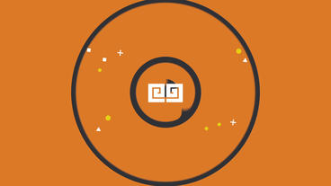Flat Logo Reveal After Effects Template
