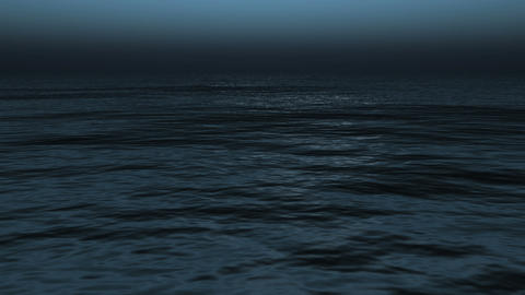 Ocean surface.Calm ocean waves Live Action