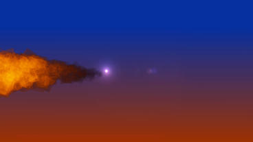 Burning Fire Logo After Effects Template