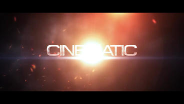 (film Level) A Shocking Particle 3D Subtitle AE Template After Effects Templates
