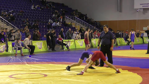 Competitions in freestyle wrestling Live Action