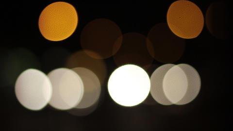 Bokeh Traffic Lights Footage