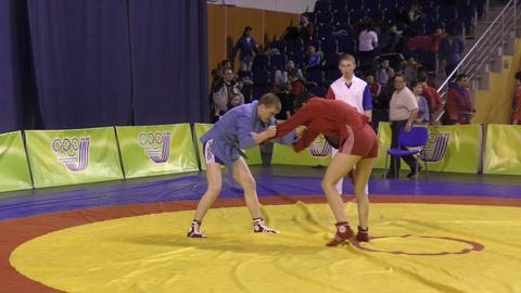 Youth Sambo competitions Live Action