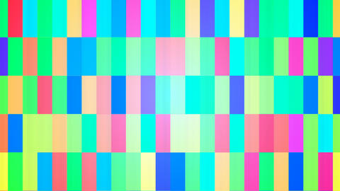 Broadcast Twinkling Hi-Tech Bars, Multi Color, Abstract, 4K Animation