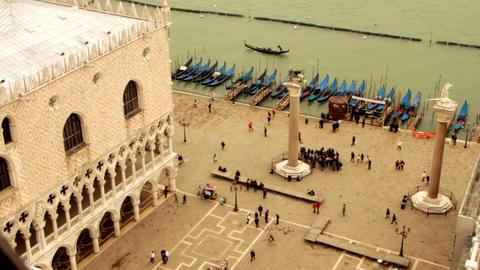 Doge's Palace Palazzo Ducale in Venice- Venice, Venezia Live Action