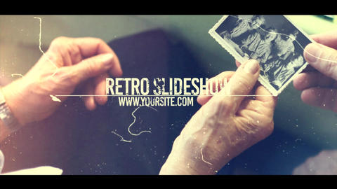 Retro Slide After Effects Template