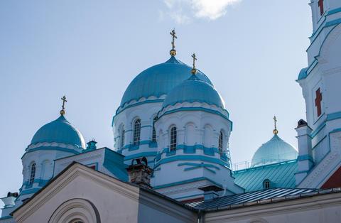 The Spaso-Preobrazhensky monastery on Valaam Photo
