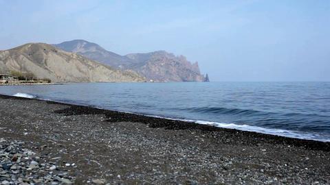 deserted beach Footage