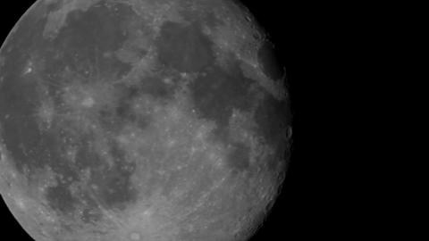 Full moon close-up Footage