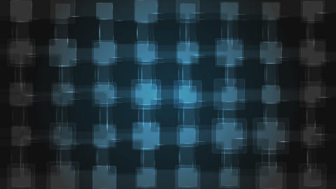 Dark blue squares abstract geometric motion design Animation