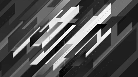 Abstract geometric minimal tech video animation Animation
