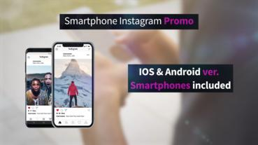 Smartphone Instagram Promo Premiere Proテンプレート