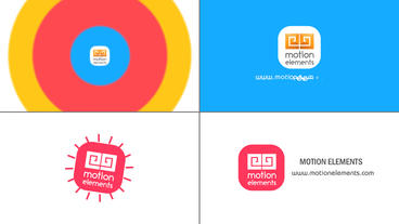 Clean Minimal Logo After Effects Templates
