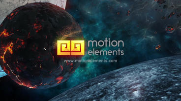 Space Logo After Effects Template