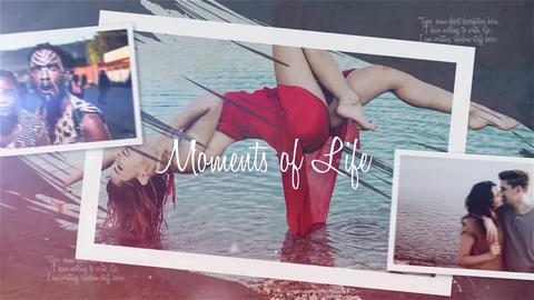 Moments of life Premiere Pro Template