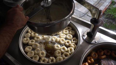 Turkish Anatolia Traditional Sweet Dessert Donut Named Lokma Image