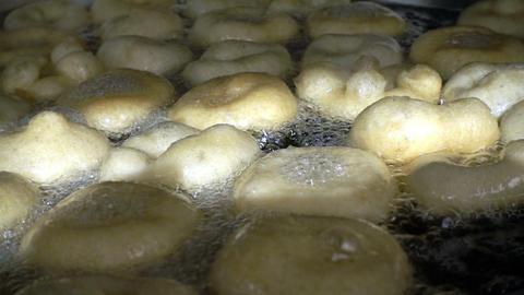 Turkish Anatolia Traditional Sweet Dessert Donut Named Lokma 영상물