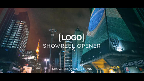 Showreel Opener After Effects Template