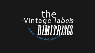 Vintage Typo 애프터 이펙트 템플릿