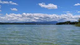 Lake Starnberger See, Bavaria Archivo