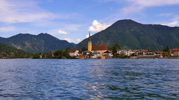 Rottach-Egern at Tegernsee Lake, Upper Bavaria Footage