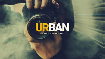 Urban Intro After Effects Template