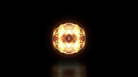 Glowing Particles Logo Reveal After Effects Template