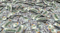 Money Background CG動画素材