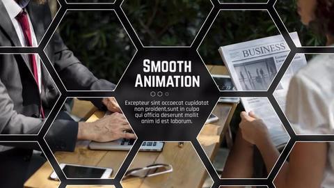 Hexagon Corporate Premiere Premiere Proテンプレート