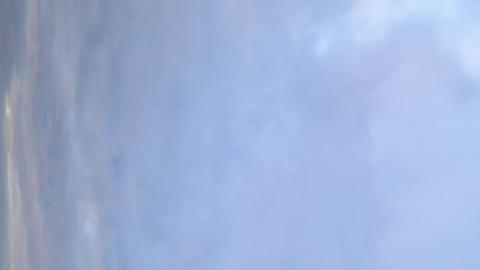 Vertical video. Clouds in the sky Footage