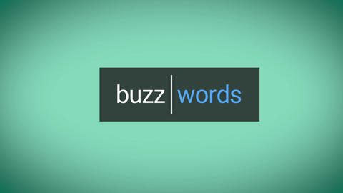 Buzz Words Motion Graphics Template