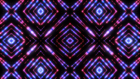 Glittern - 4k Pulsating Kaleidoscopic Video Background Loop Animación