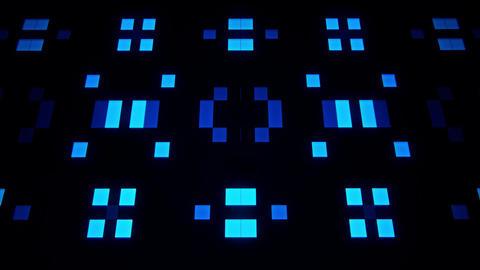 Sci-Fi Blue Artificial Intelligence AI - VJ Loop Background V2 Animation