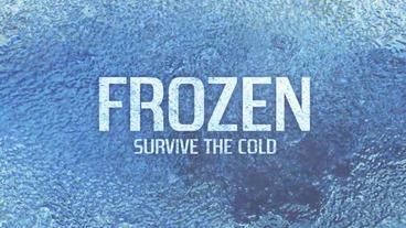 Frozen stock footage