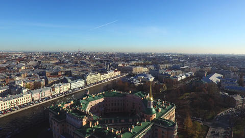 Historical Building Of St.-Petersburg Footage