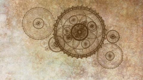 Ancient Metal Gear Wheels Videos animados